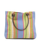 RugStudio presents Dash and Albert Nantucket Woven Cotton Tote Bag